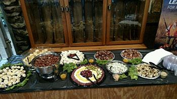 Self-Serve Catering Table