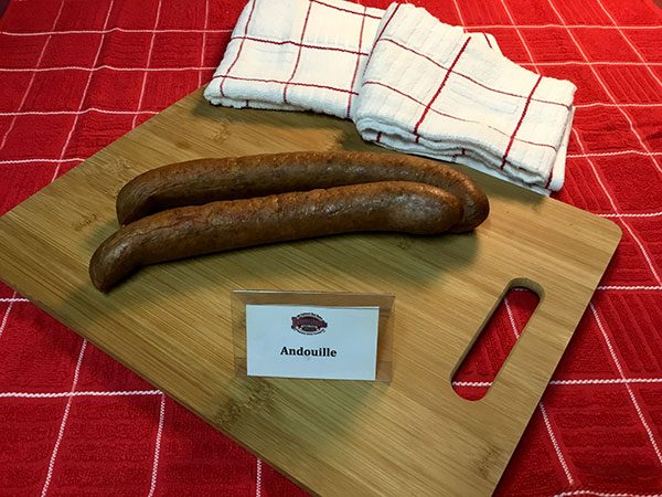 Johnston's Smoked Sausage - Andouille