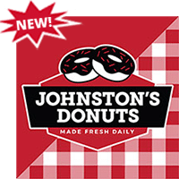 NEW! Johnston's Donuts Made Fresh Daily