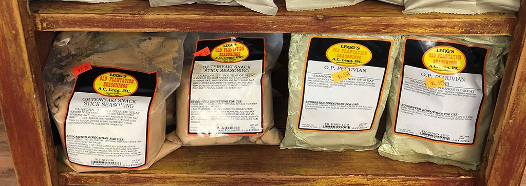Get that Johnston's taste even at home with our Spices and Rubs