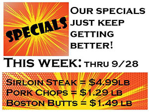 Our Specials Just Keep Getting Better!