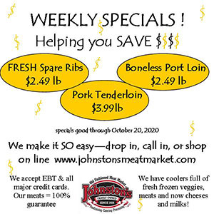Weekly Specials! Helping you save $$$